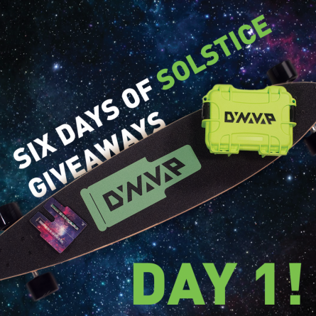 Six Days of Solstice Giveaways: Day 1